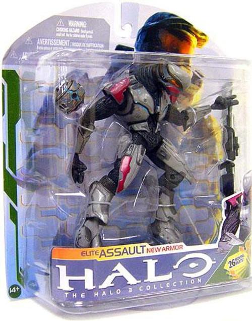 McFarlane Toys Halo 3 Series 5 Elite Assault Action Figure [Silver]