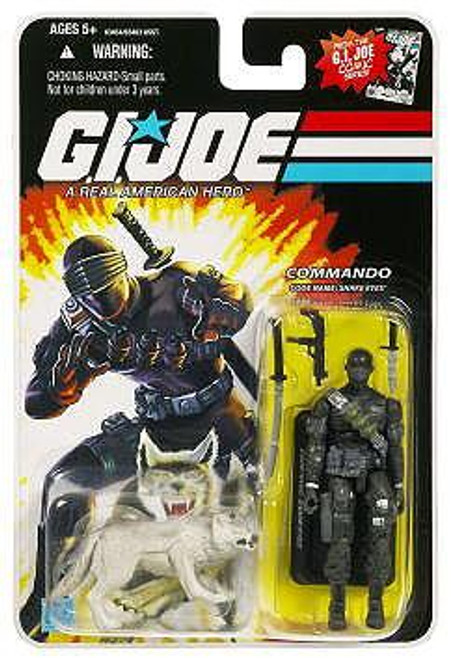 GI Joe Wave 1 Snake Eyes with Timber Action Figure
