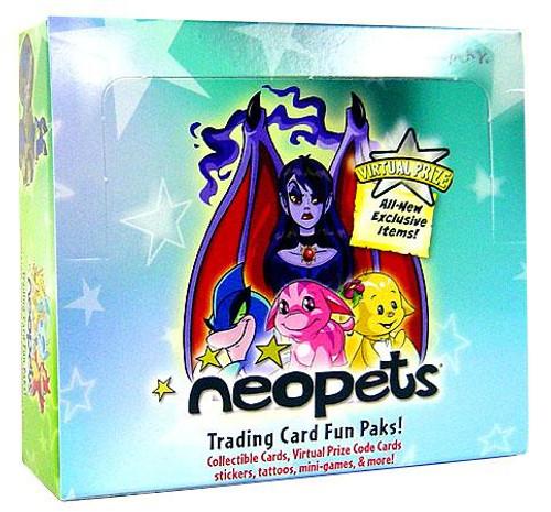 Neopets Fun Paks Trading Card Box