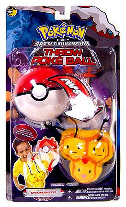 Pokemon Diamond & Pearl DP Series 7 Combee Throw Poke Ball Plush