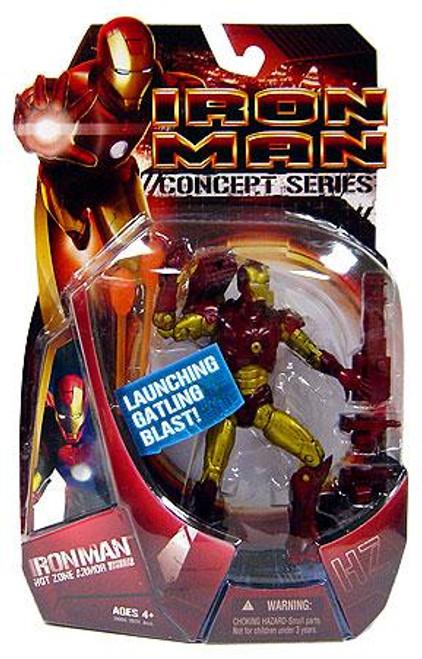 Iron Man Movie Hot Zone Iron Man Action Figure