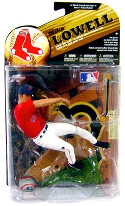 McFarlane Toys MLB Boston Red Sox Sports Picks Series 24 Exclusive Mike Lowell Exclusive Action Figure [Red Jersey]