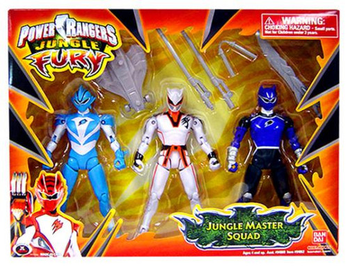 Power Rangers Jungle Fury Jungle Master Squad Action Figures