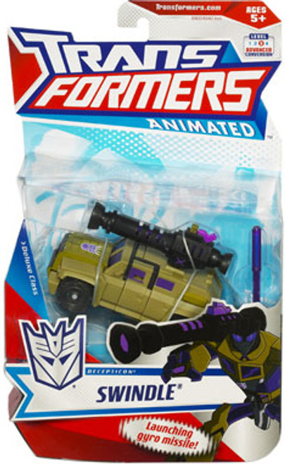 Transformers Animated Deluxe Swindle Deluxe Action Figure