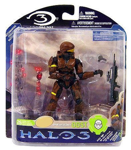 McFarlane Toys Halo 3 Series 3 Spartan Soldier ODST Exclusive Action Figure [Brown]