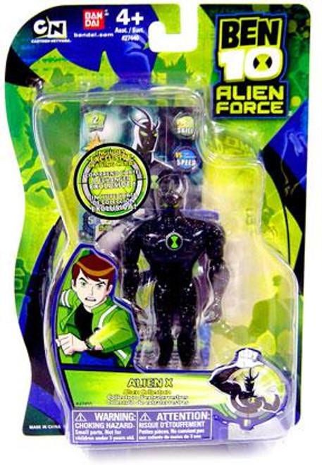 Ben 10 Alien Force Alien Collection Alien X Action Figure