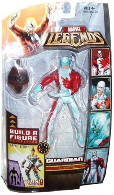 Marvel Legends Ares Build a Figure Guardian Exclusive Action Figure