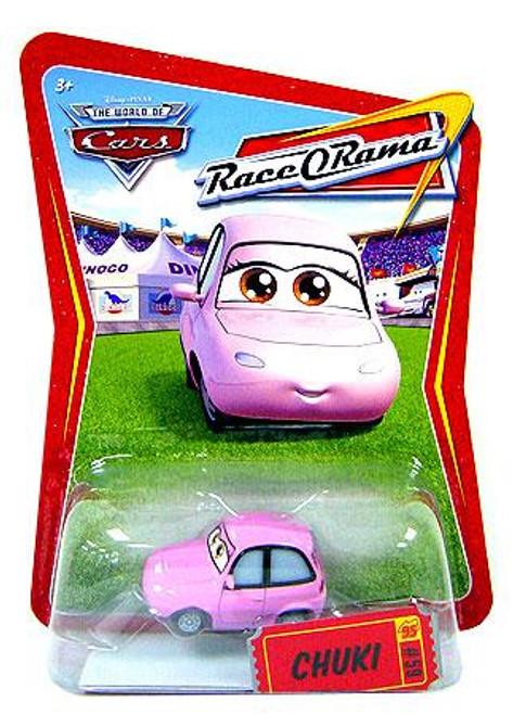 Disney Cars The World of Cars Race-O-Rama Chuki Diecast Car #59