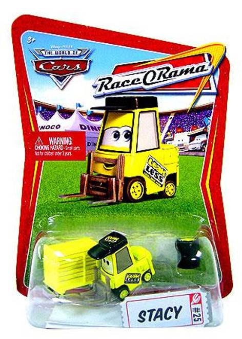 Disney Cars The World of Cars Race-O-Rama Stacy Diecast Car #25