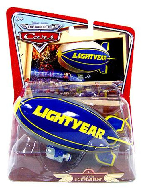 Disney Cars The World of Cars Deluxe Oversized Al Oft The Lightyear Blimp Diecast Car #4 [Random Package]