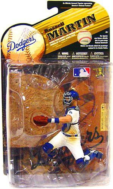 McFarlane Toys MLB Los Angeles Dodgers Sports Picks Series 25 Russell Martin Action Figure [White Jersey]