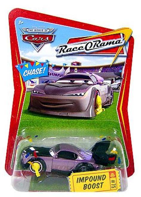 Disney Cars The World of Cars Race-O-Rama Impound Boost Diecast Car #75
