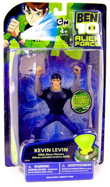 Ben 10 Alien Force DNA Alien Heroes Kevin Levin Action Figure [Damaged Package]