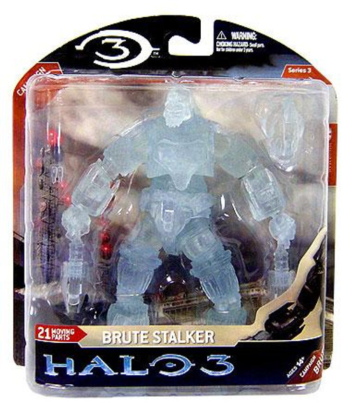 McFarlane Toys Halo 3 Series 3 Brute Stalker Exclusive Action Figure [Active Camouflage]