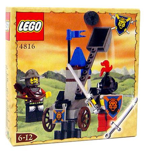 LEGO Knights Kingdom Knight's Catapult Exclusive Set #4816