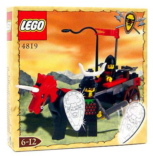 LEGO Knights Kingdom Bulls Attack Wagon Exclusive Set #4819