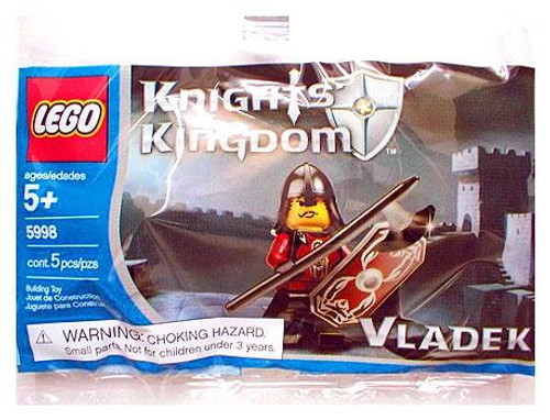 LEGO Knights Kingdom Vladek Mini Set #5998 [Bagged]
