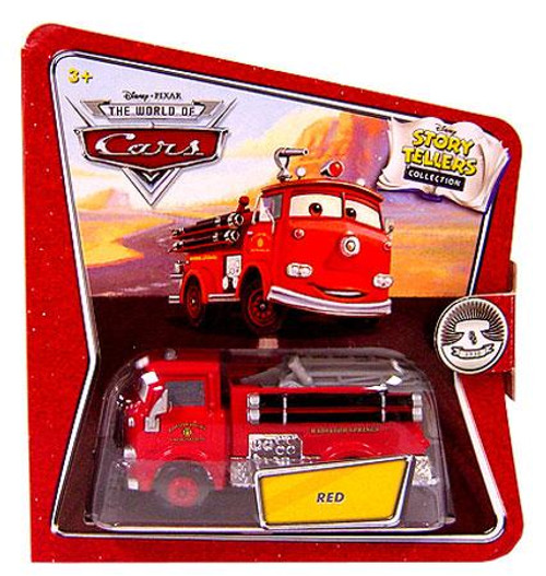 Disney Cars The World of Cars Story Tellers Red the Firetruck Diecast Car