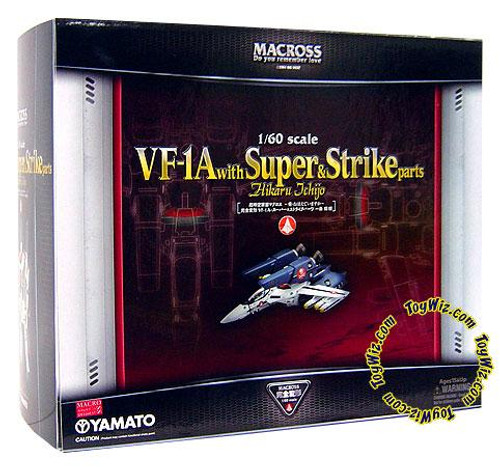 Robotech Macross VF-1A with Super & Strike Parts Action Figure [Ichijo Hikaru]