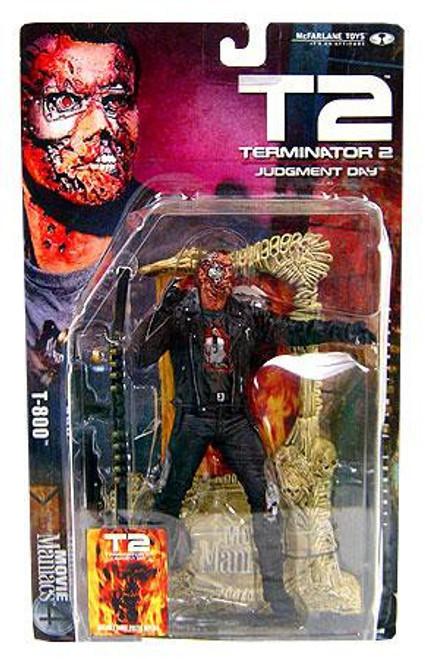 McFarlane Toys The Terminator Terminator 2 Judgment Day Movie Maniacs Series 4 T-800 Action Figure
