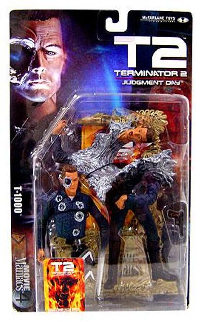 McFarlane Toys The Terminator Terminator 2 Judgment Day Movie Maniacs Series 4 T-1000 Action Figure