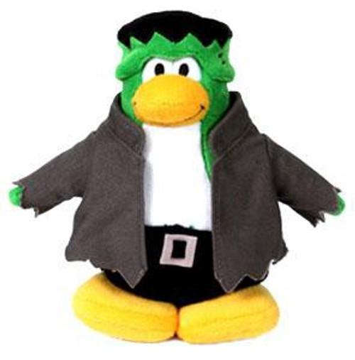 Club Penguin Series 1 Frankenpenguin 6.5-Inch Plush Figure [Version 1]