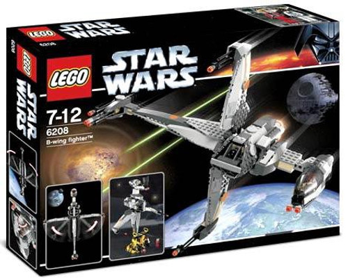 LEGO Star Wars Return of the Jedi B-Wing Fighter Set #6208
