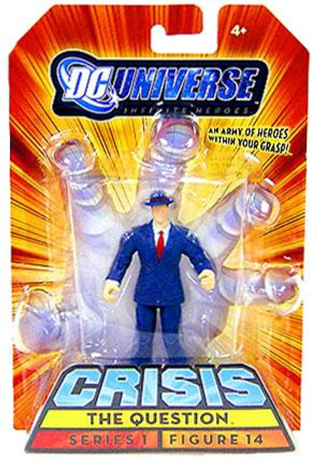 DC Universe Crisis Infinite Heroes Series 1 The Question Action Figure #14