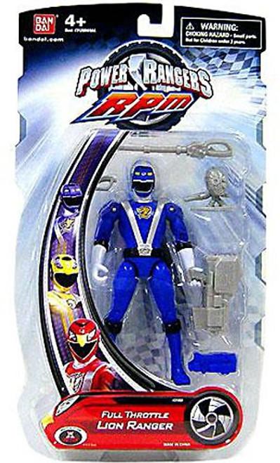 Power Rangers RPM Full Throttle Lion Ranger Action Figure
