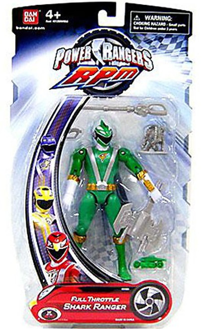 Power Rangers RPM Full Throttle Shark Ranger Action Figure