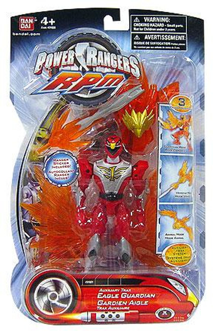 Power Rangers RPM Auxilliary Trax Auxiliary Trax Eagle Guardian Action Figure
