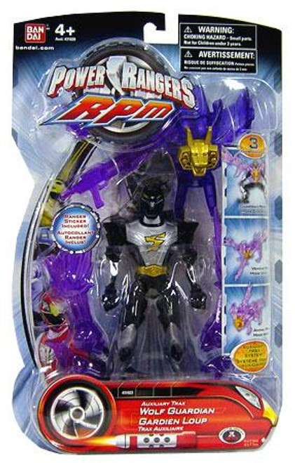 Power Rangers RPM Auxilliary Trax Auxiliary Trax Wolf Guardian Action Figure