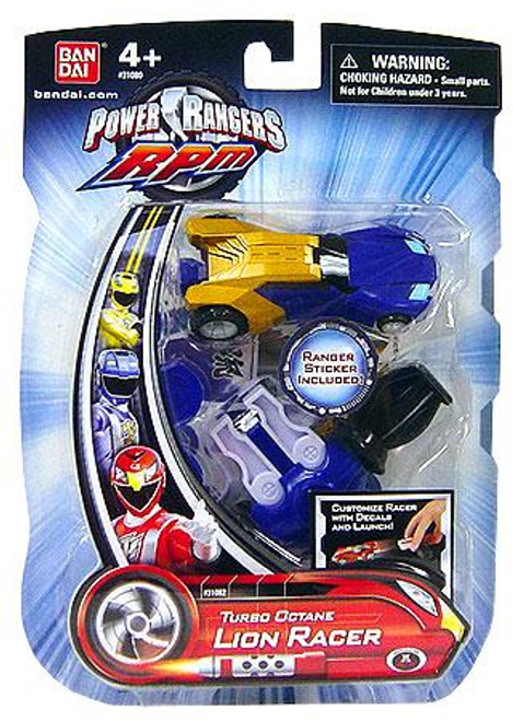 Power Rangers RPM Turbo Octane Lion Racer Action Figure