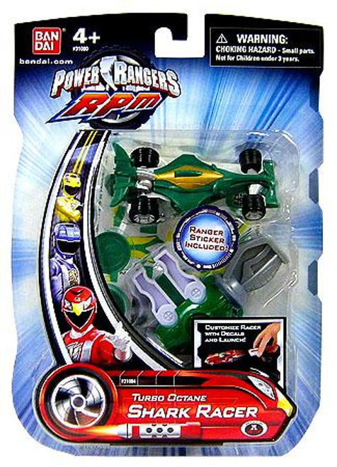 Power Rangers RPM Turbo Octane Shark Racer Action Figure