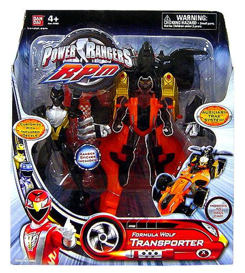 Power Rangers RPM Auxilliary Trax Formula Wolf Transporter Action Figure