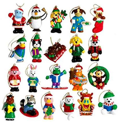 Webkinz Set of 21 Mini PVC Exclusive Ornaments