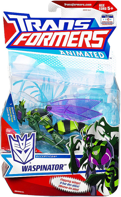 Transformers Animated Deluxe Waspinator Deluxe Action Figure