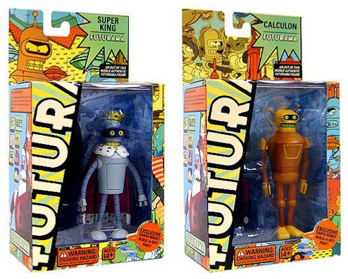 Futurama Series 5 Set of 2 Action Figure