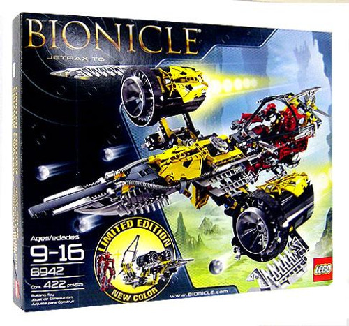 LEGO Bionicle Jetrax T6 Set #8942 [Limited Edition Yellow Ship]