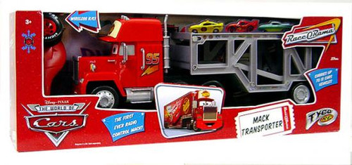 Disney Cars The World of Cars R/C Cars Mack Transporter Remote Control Car
