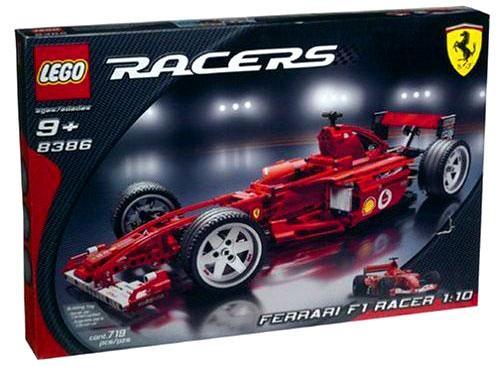 LEGO Racers Ferrari F1 Racer 1/10 Set #8386