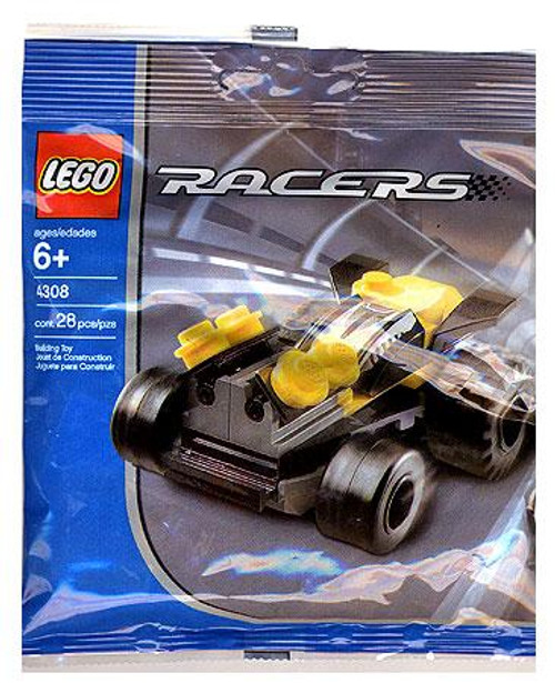LEGO Racers Yellow Racer Mini Set #4308 [Bagged]