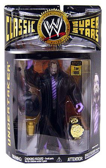 WWE Wrestling Classic Superstars Limited Editions Glow-in-the-Dark Undertaker Exclusive Action Figure
