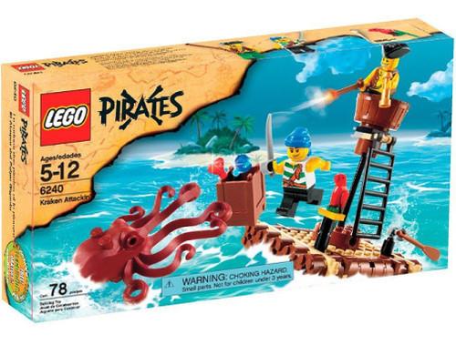 LEGO Pirates Kraken Attackin' Set #6240