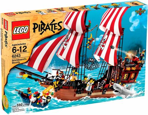 LEGO Pirates Brickbeard's Bounty Set #6243