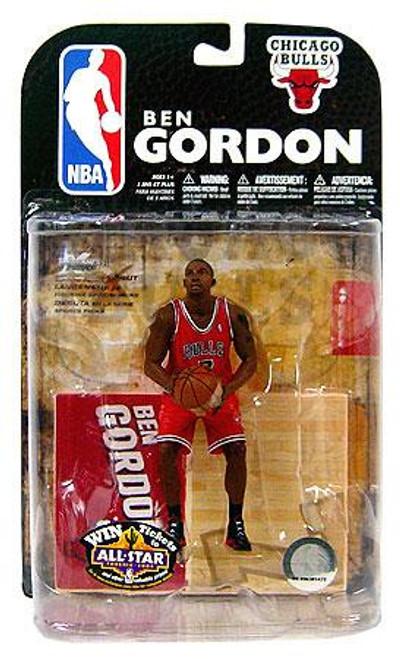 McFarlane Toys NBA Chicago Bulls Sports Picks Series 15 Ben Gordon Action Figure [Red Jersey Variant]