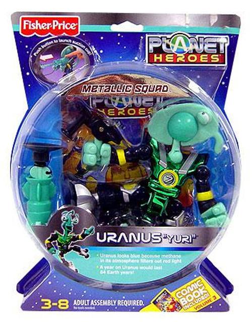 Fisher Price Planet Heroes Metallic Squad Uranus Action Figure [Yuri]
