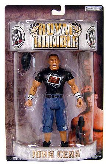 WWE Wrestling Pay Per View Royal Rumble 2008 John Cena Action Figure