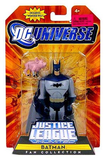 DC Universe Justice League Unlimited Fan Collection Batman Action Figure [Wonder Pig]