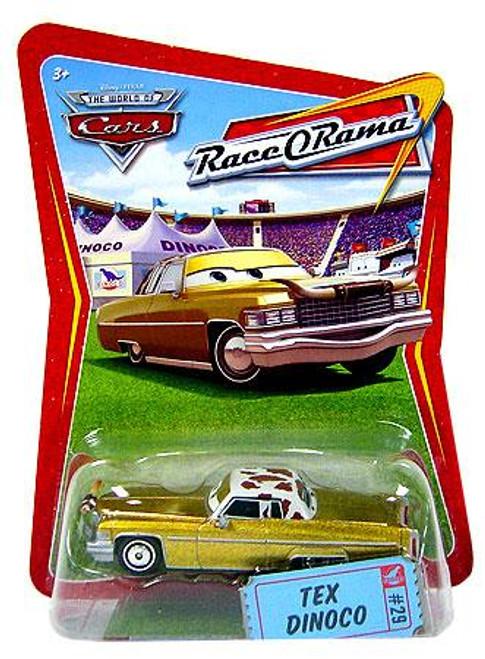 Disney Cars The World of Cars Race-O-Rama Tex Dinoco Diecast Car #29